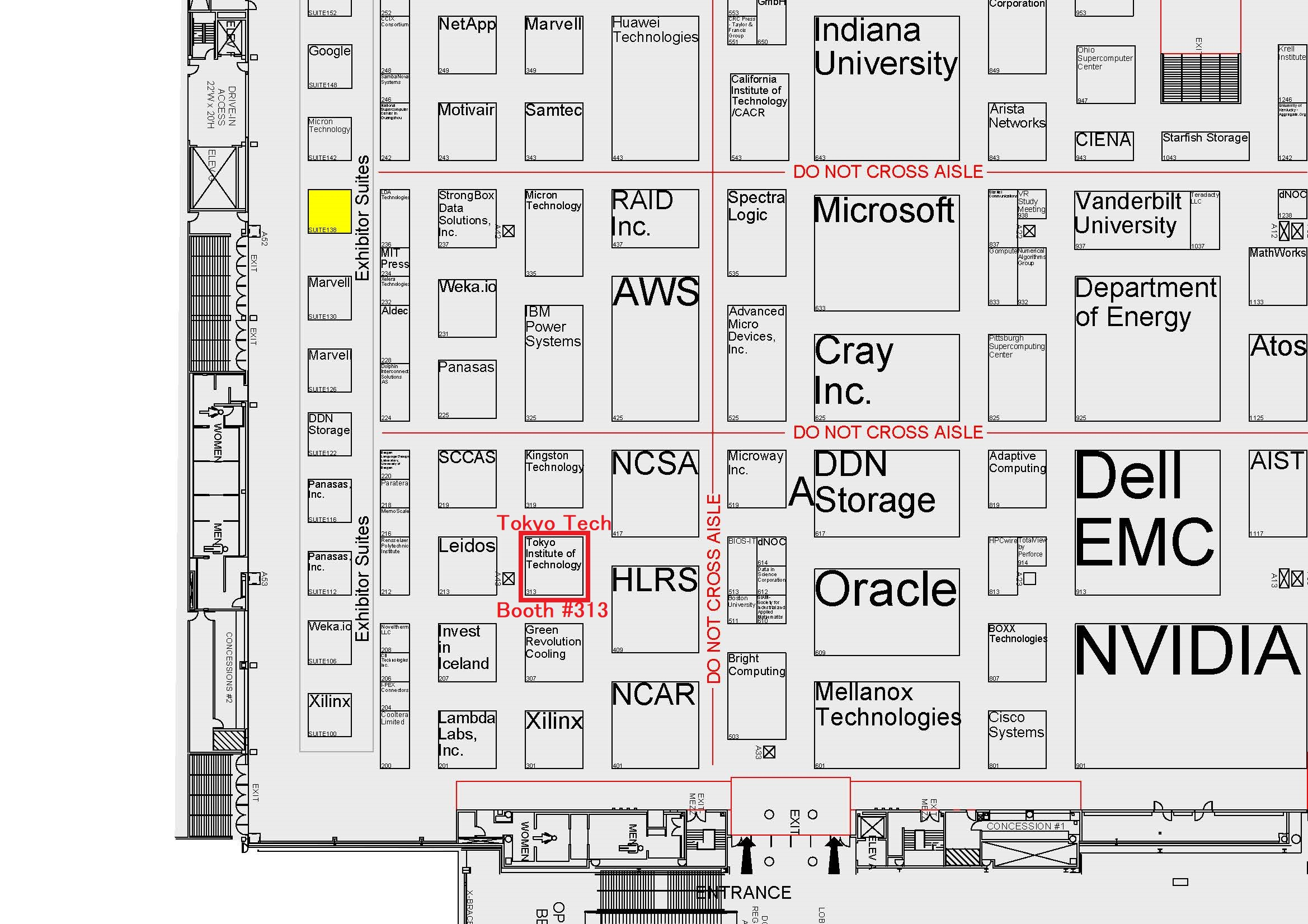 booth map