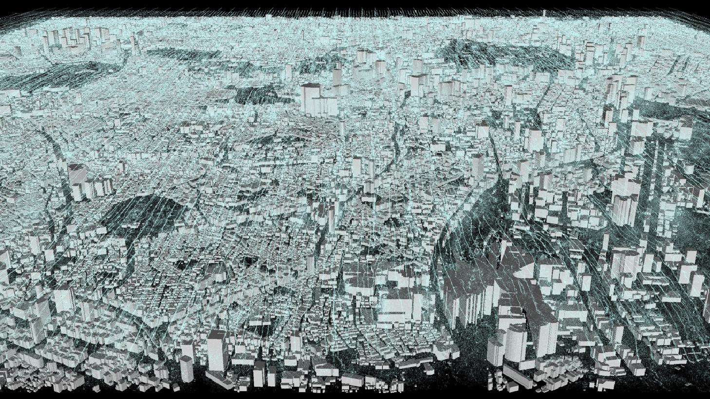 東京都心気流計算結果
